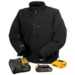 DEWALT DCHJ060C1-20V/12V MAX Black Heated Jacket Kit - wise-line-tools