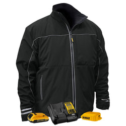 Lightweight DCHJ072D1-XL  -  Heated Soft Shell Work Jacket -X Large - wise-line-tools