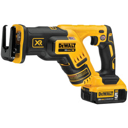 Dewalt DCS367P1 - 20V Brushless Compact Recip Saw Kit - wise-line-tools