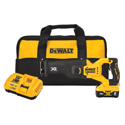 DEWALT DCS368W1 20V MAX* XR® BRUSHLESS RECIPROCATING SAW WITH POWER DETECT™ TOOL TECHNOLOGY KIT
