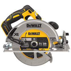 "DCS570B 20V MAX XR 7-1/4"" Circular Saw - TOOL ONLY - Wise Line Tools"