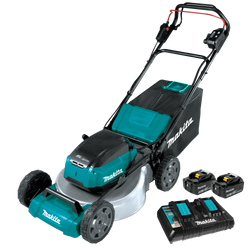 "Makita DLM532PT2  -  21"" SELF PROPELLED LAWN MOWER KIT (18VX2 5AH) + Free Blower"