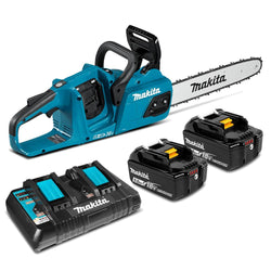 "Makita DUC355PT2  -  14"" Chain Saw Kit (5Ah)"