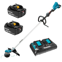 "Makita DUR368LPT2  -  15"" LINE TRIMMER KIT 18VX2 - 5AH  W/DUB362Z"