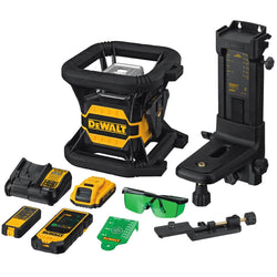 DEWALT DW080LGS -  20V MAX* TOOL CONNECT™ GREEN TOUGH ROTARY LASER - wise-line-tools