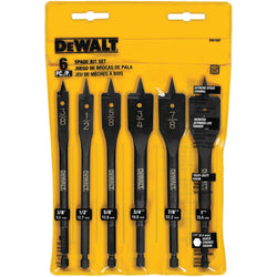 DW1587 6-PC. HEAVY DUTY SPADE BIT SET - wise-line-tools