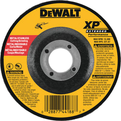DEWALT DW8820 6-Inch by 1/4-Inch by 7/8-Inch XP Grinding Wheel - wise-line-tools