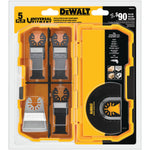 DeWALT DWA4216 - Offset Oscillating Blade Set with Case - wise-line-tools