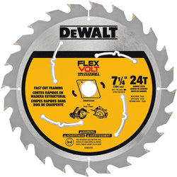 "DeWalt DWAFV3724 - FlexVolt 7-1/4"" Saw Blade - wise-line-tools"