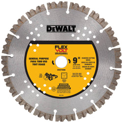 "Dewalt DWAFV8900 -  9"" FV DIAMOND CUTTING WHEEL - wise-line-tools"