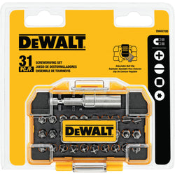 DEWALT  DWAX100  -   31PC SCREWDRIVING SET - wise-line-tools