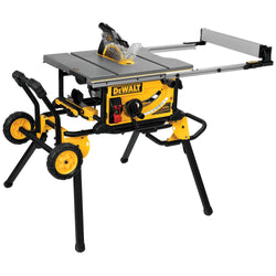 DEWALT DWE7491RS 10-Inch Jobsite Table Saw and Rolling Stand - wise-line-tools