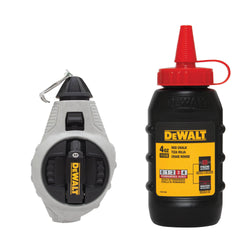 DEWALT DWHT47376L 6:1 CHALK REEL WITH RED CHALK - wise-line-tools