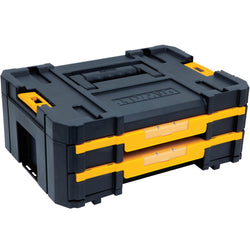 DWST17804 TSTAK® IV - DOUBLE SHALLOW DRAWERS - wise-line-tools