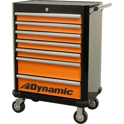 "Dynamic GT-D069201  -  28"" 7 Drawer Roller Cabinet Tool Box"
