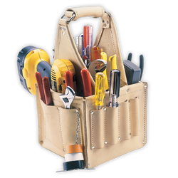 Kuny's 17 Pocket Electrician's Tool Carrier - Wise Line Tools