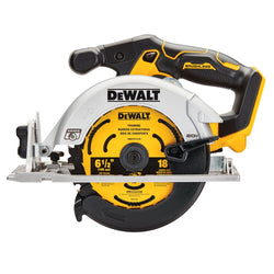 DEWALT DCS565B 20V MAX* 6-1/2 IN. BRUSHLESS CORDLESS CIRCULAR SAW (TOOL ONLY)