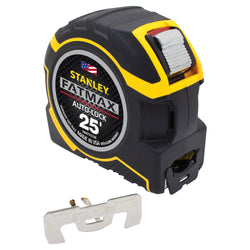 STANLEY  FMHT33338  -  25 FT. FATMAX® AUTO-LOCK TAPE MEASURE - Wise Line Tools