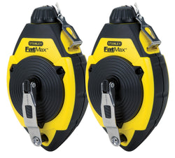 Stanley FMHT71796L 2-Pack FatMax Chalk Reels - wise-line-tools