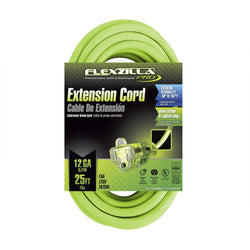 Flexzilla FZ512825 - Pro Extension Cord, 12/3, 25' - wise-line-tools