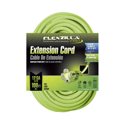 Flexzilla FZ512835 - Pro Extension Cord, 12/3, 100' - wise-line-tools