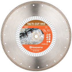 "Husqvarna 589487901  -  Tacti-Cut VH3 14"" (350) x .125 Diamond blade"
