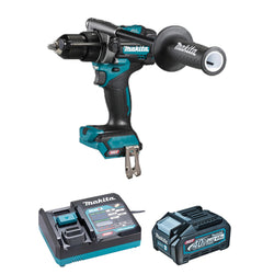 "MAKITA HP001GM102  -  XGT 40V (4.0 Ah) MAX Li-Ion Brushless 1/2"" Hammer Drill / Driver Kit"