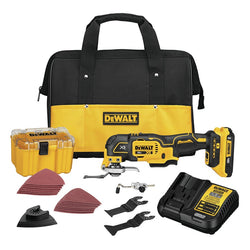 DeWalt  DCS356D1 - 20V Brushless Oscillating Multi-Tool Kit-NEW and IMPROVED