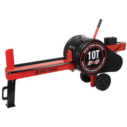 KING - KC-10LS - 10 Ton kinetic Flywheel Log Splitter