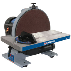 "KC-12S - 12"" DISC SANDER WITH BRAKE - Wise Line Tools"