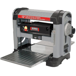 KING - K-C13HPC - 13'' PLANER WITH HELICAL CUTTERHEAD - wise-line-tools
