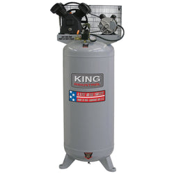 KING KC-5160V1  -   HIGH OUTPUT 6.5HP 60 GALLON AIR COMPRESSOR - Wise Line Tools