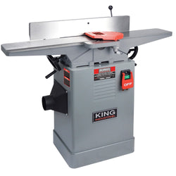 "KC-65FX - 6"" JOINTER WITH SPIRAL CUTTERHEAD - Wise Line Tools"