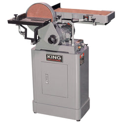 "KING  KC-760L  -  6"" X 48"" BELT & 9"" DISC SANDER"