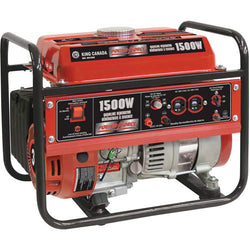 KING - KCG-1501G  -  1500W GASOLINE GENERATOR - wise-line-tools