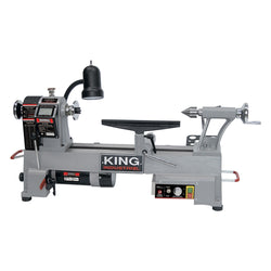 King Canada KWL-1218VS -  Variable Speed Wood Lathe