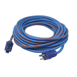 Prime LT530830 Extra Heavy Duty 50-Foot Artic Blue All-Weather Extension Cord - Wise Line Tools