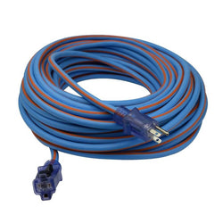 Prime LT530835 Extra Heavy Duty 100-Foot Artic Blue All-Weather  Extension Cord - Wise Line Tools