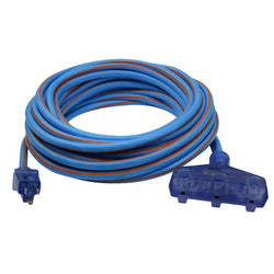 Prime LT630830 Ultra Heavy Duty 50FT Triple Tap Artic Blue All-Weather  Ext Cord - wise-line-tools