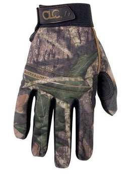 CLC Mossy Oak Hi-Dexterity Camo Gloves - wise-line-tools