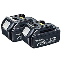Makita BL1850-2  -   18V 5.0Ah Li-Ion Battery 2pk