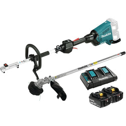Makita DUX60PTM5X - 18Vx2 LXT Brushless Split Shaft Power Head Kit - with line trimmer attachment