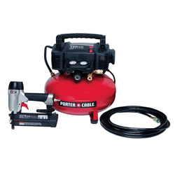 PORTER-CABLE PCFP12236 Brad Nailer Combo Kit - wise-line-tools
