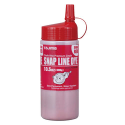 Tajima PLC3-DR300 - Red Semi-Permanent Chalk 10.5oz. - wise-line-tools