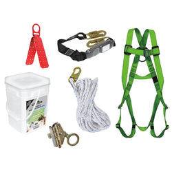 PeakWorks Roofer's Safety Kit - Wise Line Tools