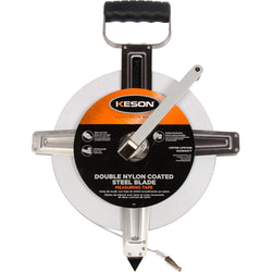 Keson SNR18100 SNR Series English Double Nylon Coated SAE Blade Long Tape - Wise Line Tools