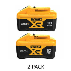 Dewalt DCB210-2  -  20V MAX XR 10 AH Battery - 2 Pack