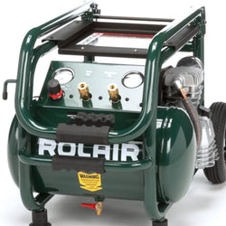 Rolair Compressor 2.5hp wheeled-dolly - wise-line-tools