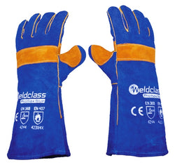 Weldclass WC-01775 - Welding Gloves - PROMAX BLUE