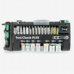 Wera 056490  -  Tool-Check Plus Bit Ratchet Set with Sockets - Metric - wise-line-tools